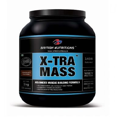 British Nutritions X-tra Mass 500gm
