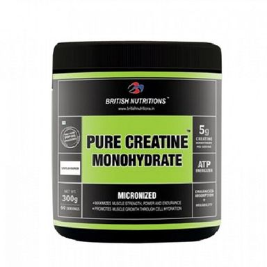 British Nutritions Pure Creatine Monohydrate 500gm