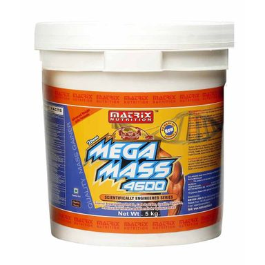 Matrix Nutrition Mega Mass 4600 11lbs/5kg