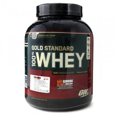ON Gold Standard 100% Whey Protein 2lbs