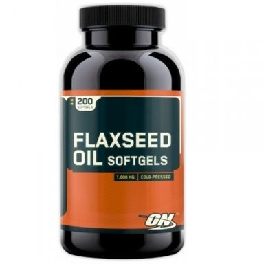 ON Flaxseed Oil Softgels 200