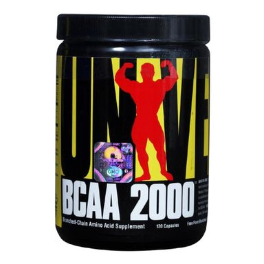 Universal Nutrition BCAA 2000, 120 capsules