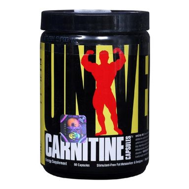 Universal Nutrition Carnitine, 60 capsules Unflavoured