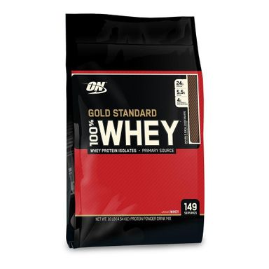 ON (Optimum Nutrition) Gold Standard 100% Whey Protein, 10 lb
