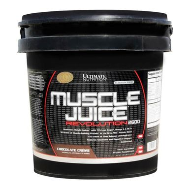 Ultimate Nutrition Muscle Juice Revolution 2600, Chocolate Creme 11.1 lb