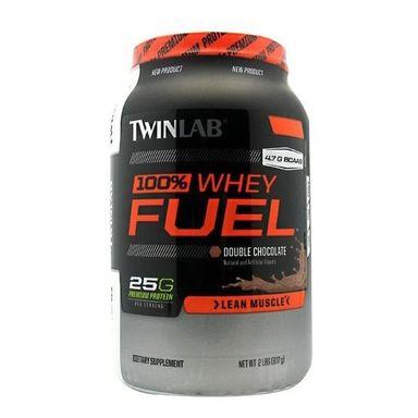 TWINLAB 100% Whey Fuel, 2 lb Double Chocolate