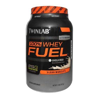 TWINLAB 100% Whey Fuel, 2 lb Vanilla Rush