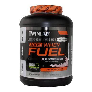TWINLAB 100% Whey Fuel, 5 lb Strawberry Shortcake