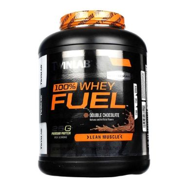 TWINLAB 100% Whey Fuel, 5 lb Double Chocolate