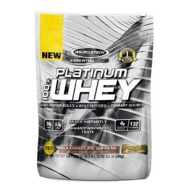 MuscleTech Essential Platinum 100% Whey, 10 lb