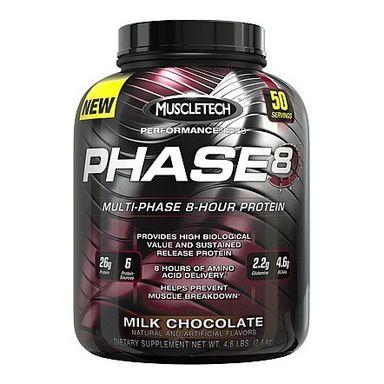 MuscleTech Phase 8, 4.60 lb Milk Chocolate