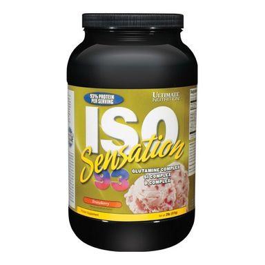 Ultimate Nutrition ISO Sensation 93, 2 lb Strawberry