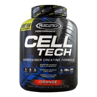 MuscleTech CellTech Performance Series, Orange 5.95 lb