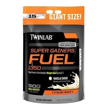 TWINLAB Super Gainer Fuel, Vanilla Shake 12 lb