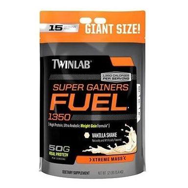 TWINLAB Super Gainer Fuel, Strawberry 12 lb