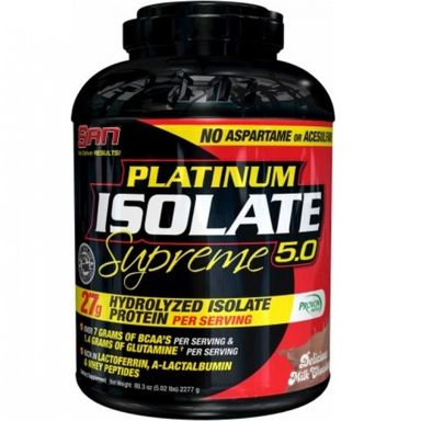 SAN Whey Platinum Isolate 5lbs/2.25kg