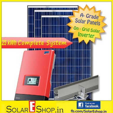 25kWh On Grid Tie Solar Inverter Kits