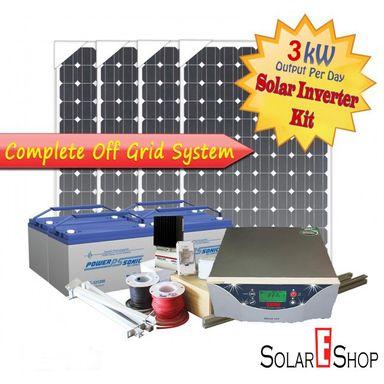3kWH Complete Solar Inverter Kit