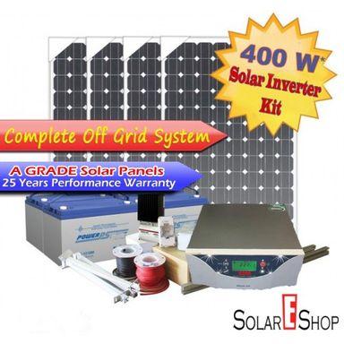 400Wh Complete Solar Inverter Kit