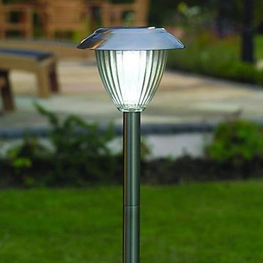 Solar Garden Light Stainless Steel with Auto On-Off Sensor ECS-SMALSS1