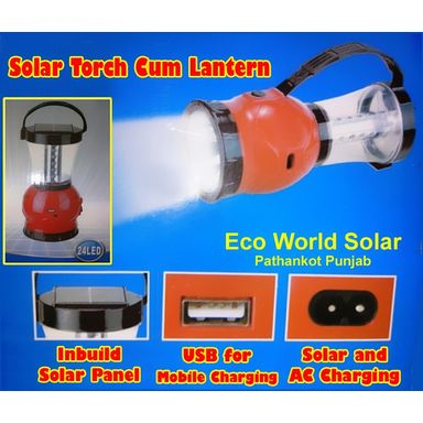Solar Lantern Cum Torch 24LED