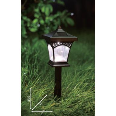 Solar Garden Light with Auto On-Off Sensor ECS-BIGP