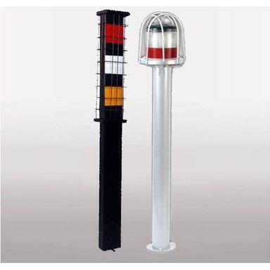 Solar Delineators Warning Flasher