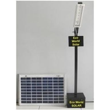Solar Street Light LED 6W Equivalent To 125W Halogen Bulb