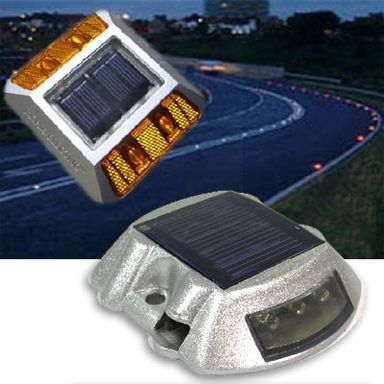 Solar Road Stud Warning Light