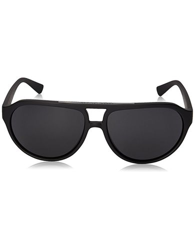 Armani Exchange Men's Injected Man Aviator Sunglasses