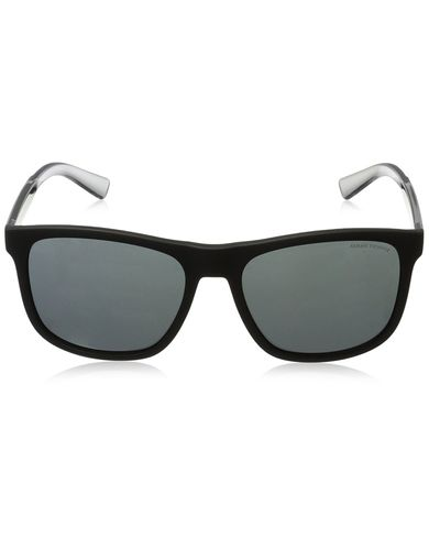 Armani Exchange Men's Injected Man Square Sunglasses