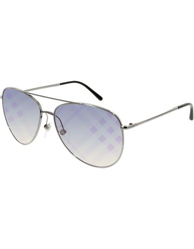 Burberry - BE 3072,Aviator steel women