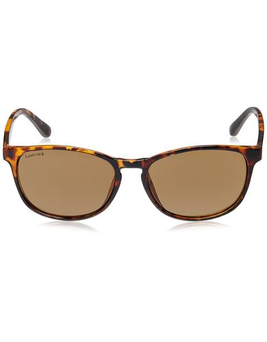 Fastrack Springers Rectangular Sunglasses (Brown) (P284BR1)
