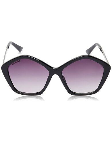 Fastrack Sundowner UV Protected Pentagon Girl's Sunglasses - (P337BK1F|64|Purple lens)