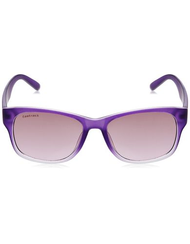 Fastrack Wayfarer sunglasses (Purple) (PC001PK14F)