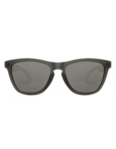 Fastrack pc003bk3 matte grey grey wayfarer sunglasses
