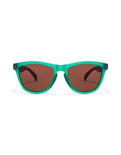 Fastrack pc003br4 green transparent grey transparent brown 08ab wayfarer sunglasses