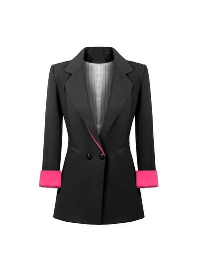 Stylish Black Blazer - KP001401
