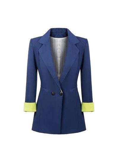 Stylish Blue Blazer - KP001400