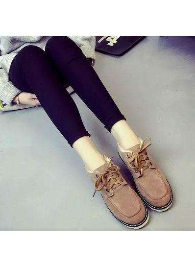Brown PU Boots -KP001370