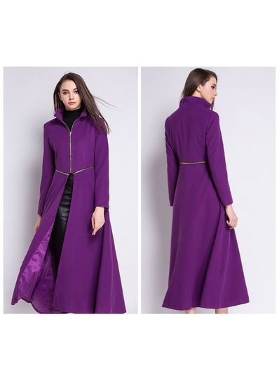 High Quality Detachable Long Coat - KP001501