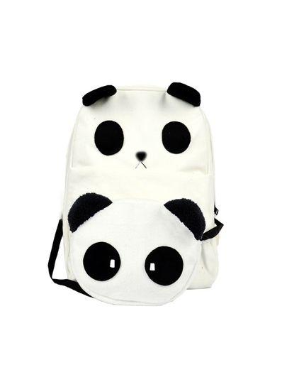 Cute Panda Backpack + Sling Bag