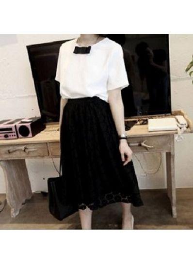 Top + Skirt Two piece Dress