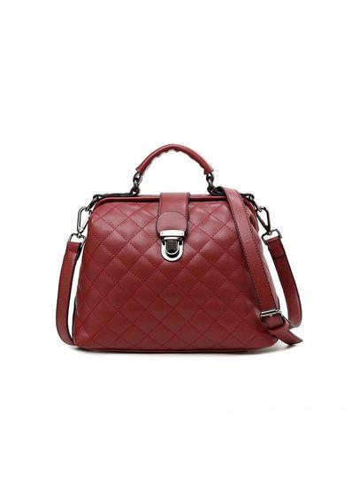 Solid Color Sling Bag - KP001482