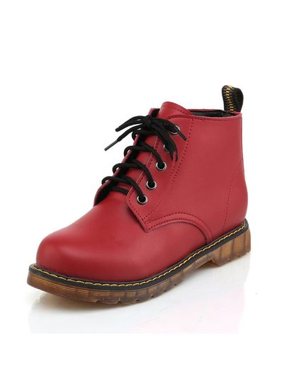Trendy PU Boots - KP001484