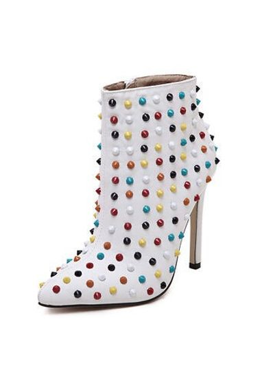 High Quality Studded Stiletto Boots - KP001491