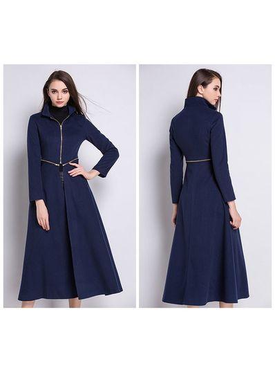 High Quality Detachable Long Coat - KP001498