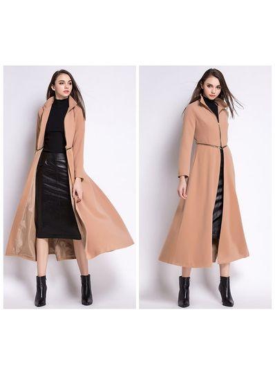 High Quality Detachable Long Coat - KP001502