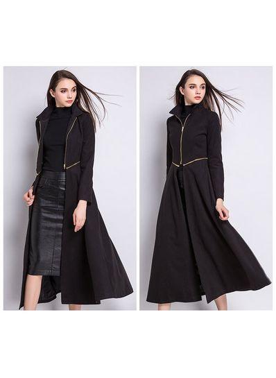 High Quality Detachable Long Coat - KP001499