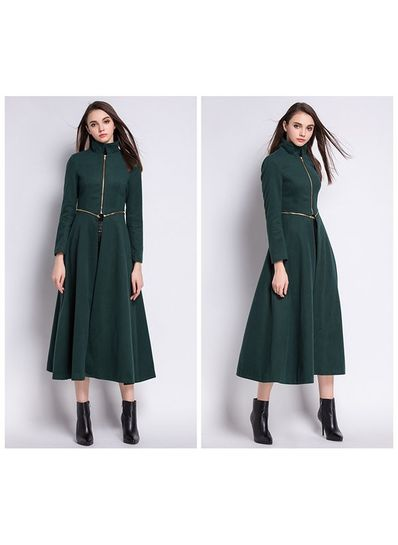 High Quality Detachable Long Coat - KP001500